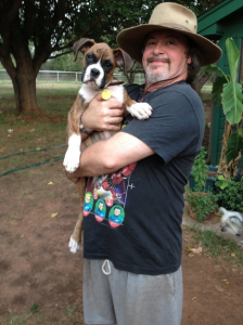 Dr. Lawson With Sooki 9 Weeks-July 2012